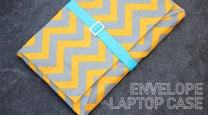Make your own laptop or iPad case